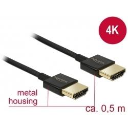 Kábel HDMI A - HDMI A 3D 4K norma HDMI 2.0