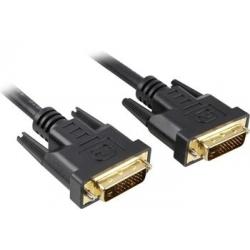 Prepojovací DVI-D kábel - M / M  - dual link