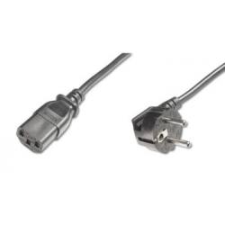 Sieťový kábel 230V zahnutý