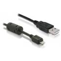 Prepojovací kábel USB AM -USB micro AM norma USB 2.0