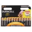 Batérie Duracell  Alkalické AA 12ks