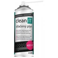 CLEAN IT-  silný stlačený plyn, horľavý 400ml