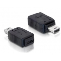 USB redukcia  Mini 5pin M -Micro A+B F norma USB 2.0