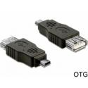 USB redukcia AF - Mini 5pin M norma USB 2.0 OTG