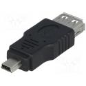 USB redukcia AF - Mini 5pin M norma USB 2.0