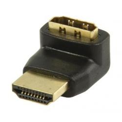 Spojka HDMI A M - A F uhlová -270 stupňov