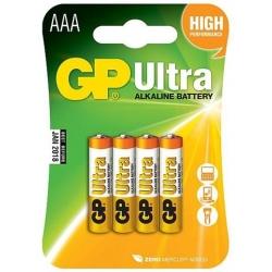 Batéria GP Ultra , AAA, Alkalická, 1.5V