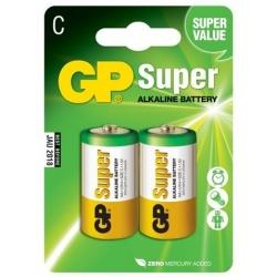 Batéria GP C Super -LR14 -mono, Alkalická, 1.5V