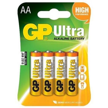 Batéria GP Ultra , AA, Alkalická, 1.5V