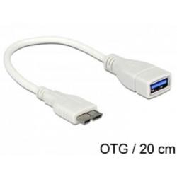Redukcia Micro USB B M - USB A F norma USB 3.0 OTG