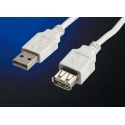 Predlžovací kábel USB AM - AF norma USB 2.0