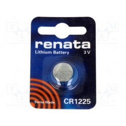 Gombíková batéria CR1225