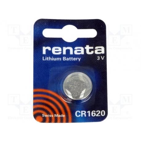 Gombíková batéria CR 1620