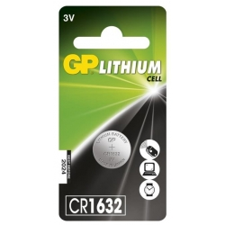 Gombíková batéria CR1632
