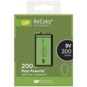 Nabíjateľná batéria GP 9V ReCyko+ 200 series